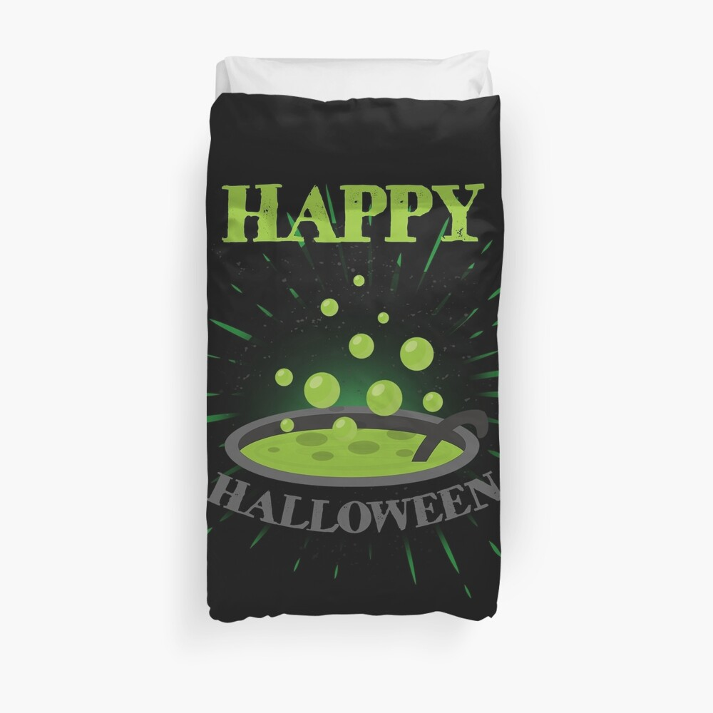 Horror Witch Enchantress Potion Halloween Funny Gift Funda nórdica