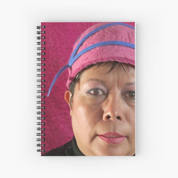 (523) Cloche with shoelaces (card) Spiral Notebook