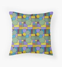 Abstract Composition Summer Nature v2 Floor Pillow