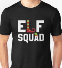 Funny Elf Squad Unisex T-Shirt