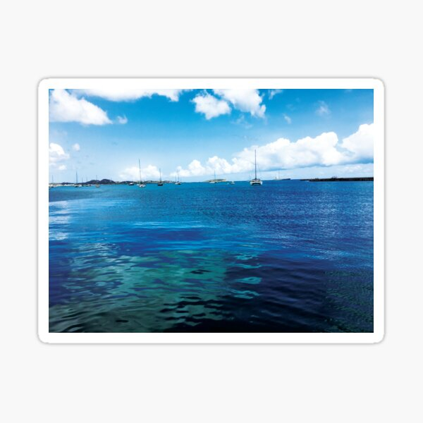 Sailboats Searching for the Sea by Jerald Simon (Music Motivation - musicmotivation.com) Sticker