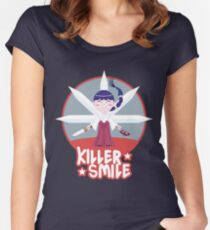 KILLER SMILE Women's Fitted Scoop T-Shirt