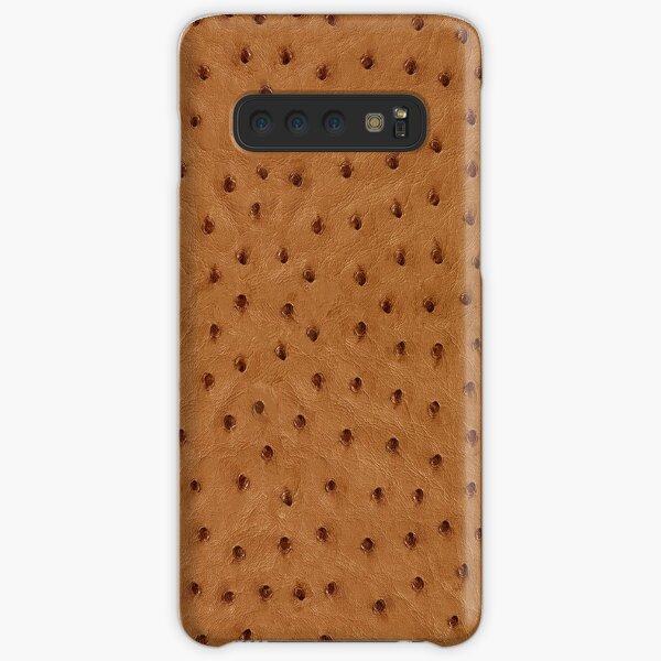Ostrich Skin Samsung Galaxy Snap Case