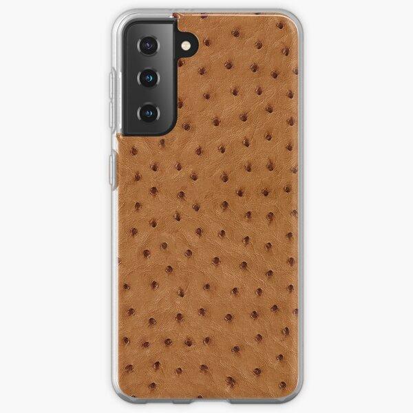 Ostrich Skin Samsung Galaxy Soft Case
