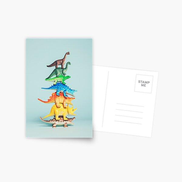 Stackosaurus... Postcard