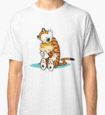 calvin and hobbes Hug Classic T-Shirt
