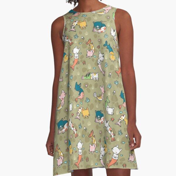 Meowmaids A-Line Dress