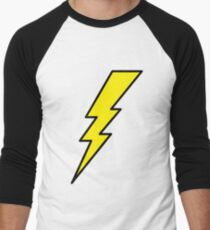 Lightning bolt  Men's Baseball ¾ T-Shirt