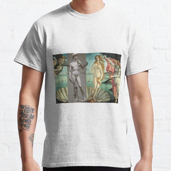 Virtual Meeting of David and Aphrodite  #Virtual #Meeting #David #Aphrodite  Classic T-Shirt