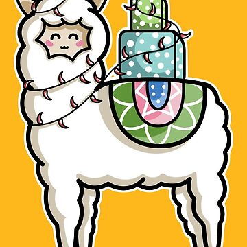 Gift Carrying Llama by freeves