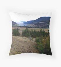 Nicola Valley Throw Pillow