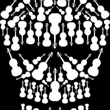 Skull Violins | Music Instruments Violinist by anziehend