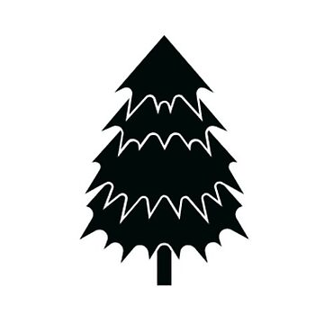 Cartoon Drawing Live Holiday Tree Sticker by TheKitch