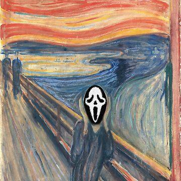 The scream by lucasbrondi