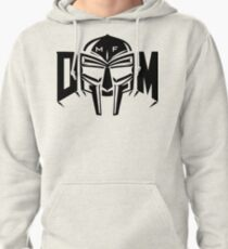 MF MASK  White Pullover Hoodie