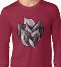 Abstract Dynamic Shapes Long Sleeve T-Shirt