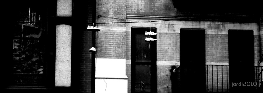 Shoes on a Wire. by jordi2010