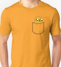 Adventure Time Pocket Jake Slim Fit T-Shirt