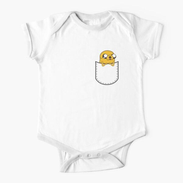 Adventure Time Pocket Jake Short Sleeve Baby One-Piece