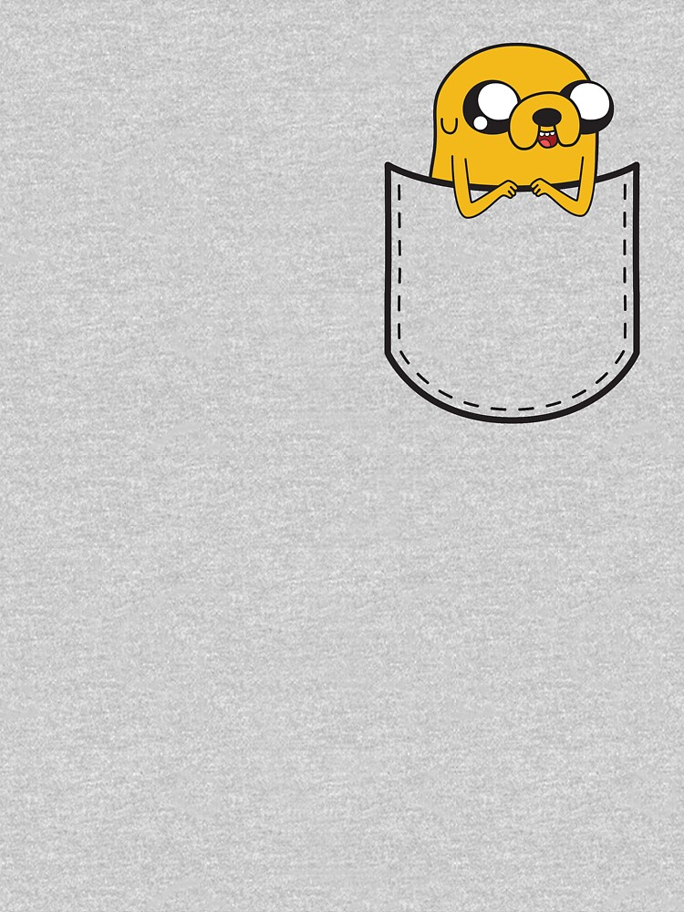 Adventure Time Pocket Jake by Doomgriever