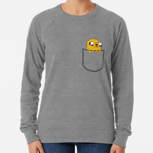 Adventure Time Pocket Jake Lightweight Sweatshirt
