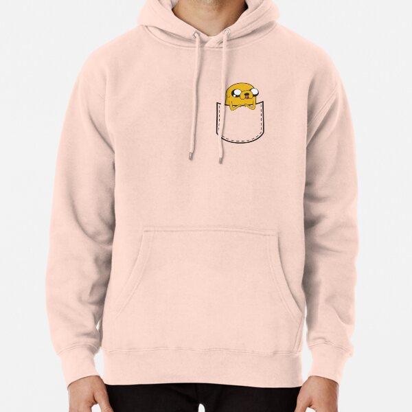 Adventure Time Pocket Jake Pullover Hoodie