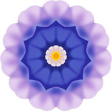 Kaleidoscope ornament Primrose by MarlowLoom