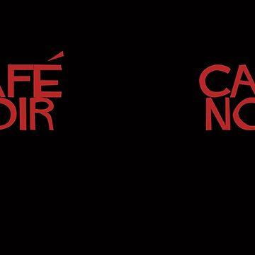 Café Noir by DarkRobots