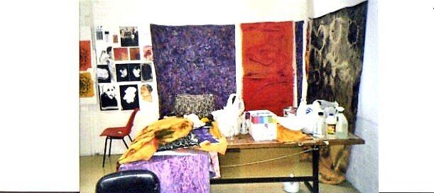 The Artists Studio by Richard  Tuvey