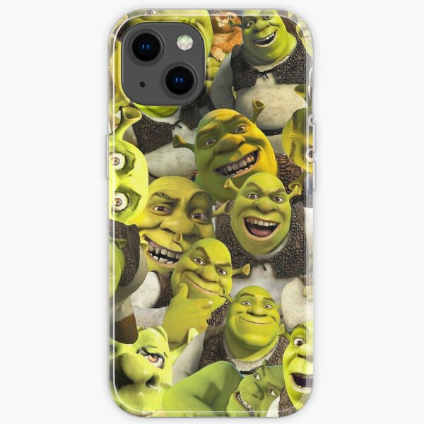 Shrek  iPhone Soft Case