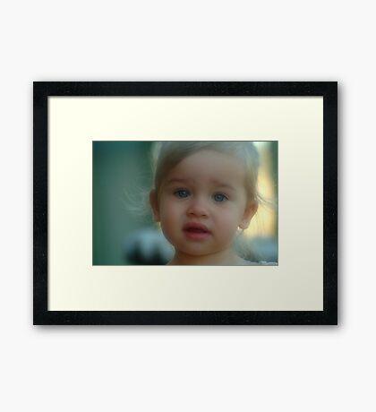 Cutie Framed Print