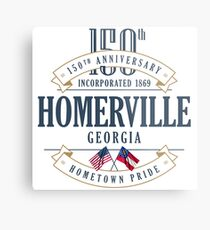 Homerville, Georgia 150th Anniversary Metal Print