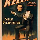 Vintage poster - Kellar the Magician, Self-Decapitation by mosfunky