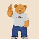 Peace Bear by barmalisiRTB
