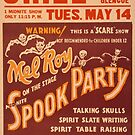 Vintage poster - Spook Party by mosfunky