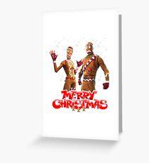 Merry Marauder & Ginger Gunner  Greeting Card
