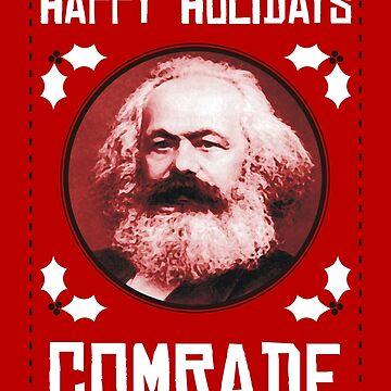 Happy Holidays Comrade by JezWeCan