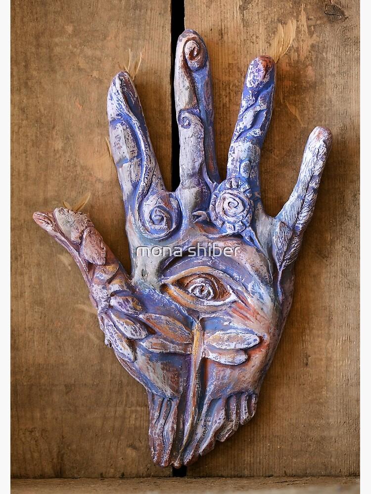 Hand Eye by MonaShiber