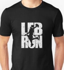 Lebron James - King James White Slim Fit T-Shirt