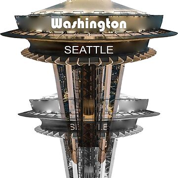 Seattle Sky Tower Double by cityartapparel