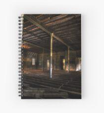 Communal Room - Abandoned Woogaroo Mental Asylum Spiral Notebook