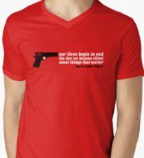silencer [reloaded] Mens V-Neck T-Shirt