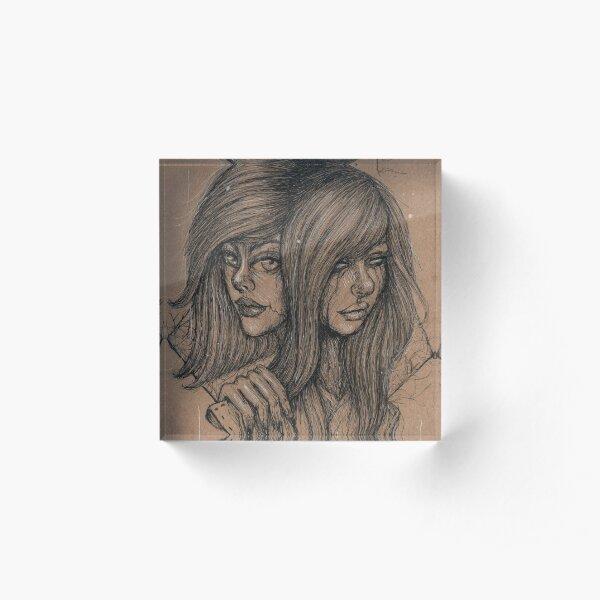 Double Acrylic Block
