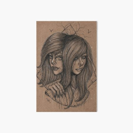Double Art Board Print