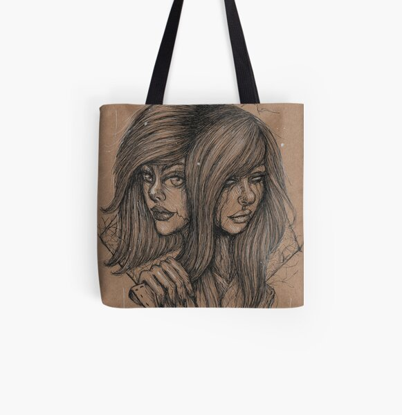 Double All Over Print Tote Bag