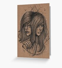 Double Greeting Card