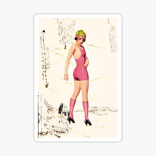 pink swimsuit, 2011 Sticker