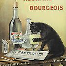 Vintage poster - Absinthe Bourgeois by mosfunky