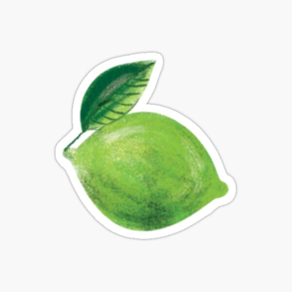Lime Sticker Sticker