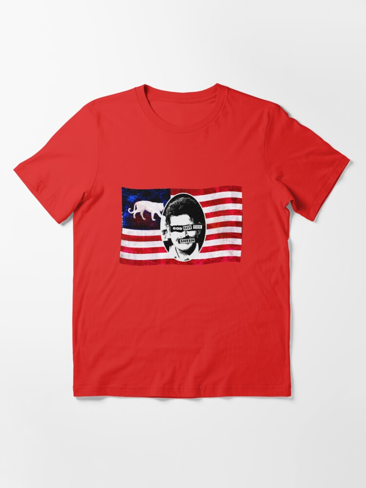Alternate view of God Save The Sheen Essential T-Shirt